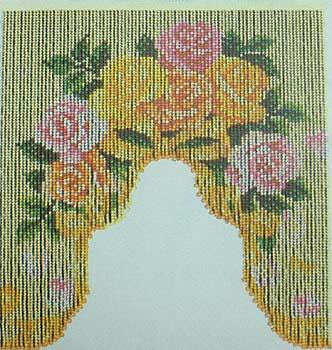 手芸 KIT スキー毛糸の元廣 S106 バラのブーケ 1ケ ビーズ手芸【取寄商品】