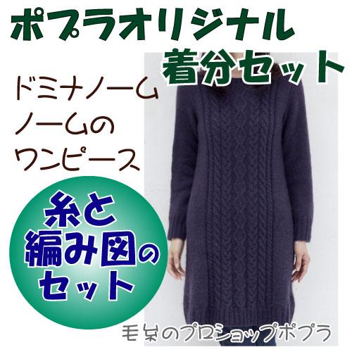 【秋冬】ノームのワンピース【中級者】【編み物キット】