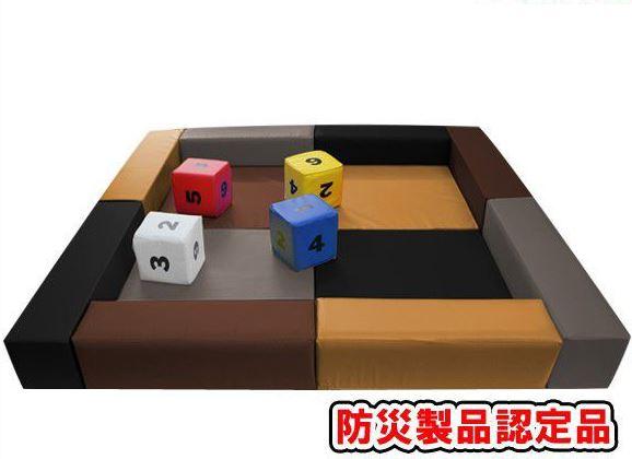 キッズコーナー1.8m×1.8m 選べる20色 ショールームにぴったり。