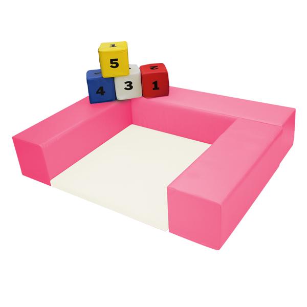 キッズコーナー1.3m×1.1m 選べる20色 ショールームにぴったり。