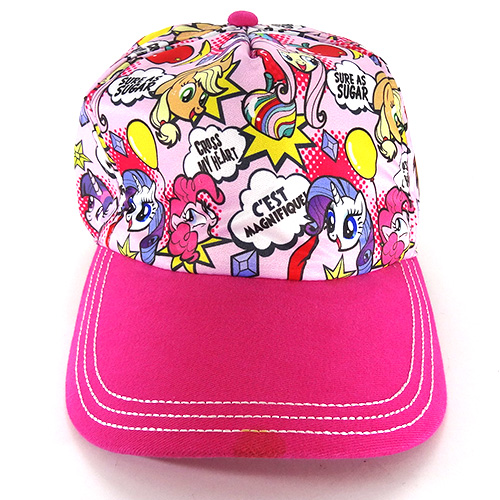 My Little Pony Cap Pink 11584 MY LITTLE PONY Hat CAP and hat fashion  fashionable friend s packet non-magical import costumes Yu c543368adae9