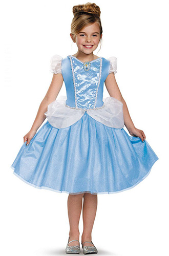 3 1900 disney princess cinderella costume for four to six year old 11723 disney halloween costume cosplay kids non packet 4 years 5 years 6 years