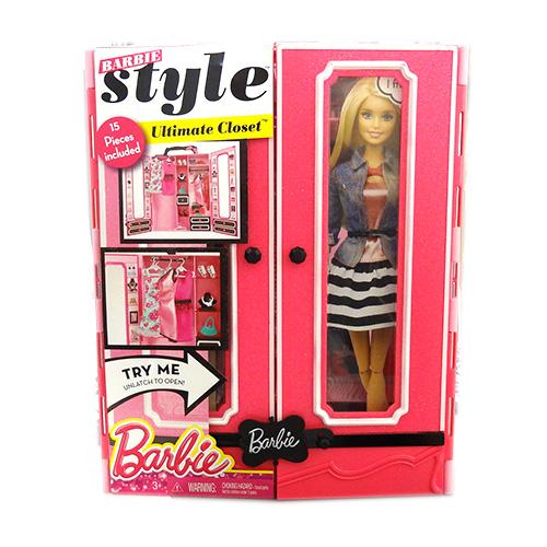 バービー クローゼット & ファッション セット 11726 Barbie おもちゃ 人形 ドールハウス きせかえ 輸入 グッズ インポート メール便不可【h_game】