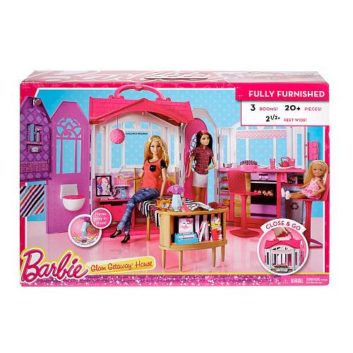 【ポイント5倍 30日23:59マデ】バービー Glam Getaway House 別荘 11727 Barbie 人形 ドールハウス きせかえ 輸入 インポート  メール便不可【残り僅か】子供会 クリスマス 景品【残り僅か】【ds】【ou】【p20】
