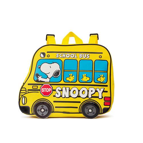 史努比小背包黄色11736 SNOOPY PEANUTS帆布背包帆布背包包包yuu分组不可
