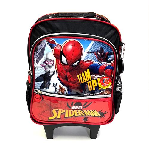 スパイダーマン ローリングバックパック 12899 SPIDER-MAN MARVEL キャリーバッグ リュックサック