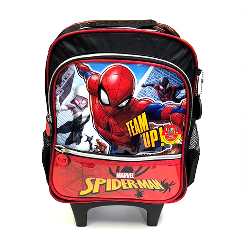 <title>送料無料 バックパック リュック 輸入品 インポート スパイダーマン ローリングバックパック 12899 SPIDER-MAN MARVEL 激安卸販売新品 キャリーバッグ リュックサック</title>