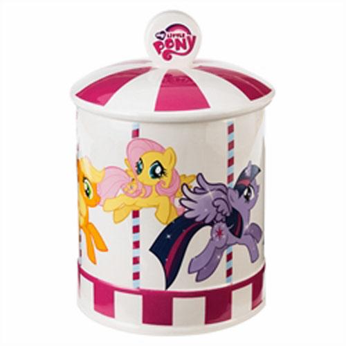 マイリトルポニー My Little Pony クッキージャー 10432k Vandor  キャラクター インポート 輸入 グッズ 雑貨  メール便不可