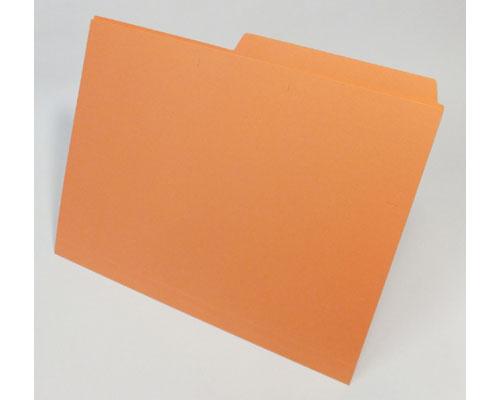 個別フォルダー 橙/300枚/箱入 KO-A4SO3