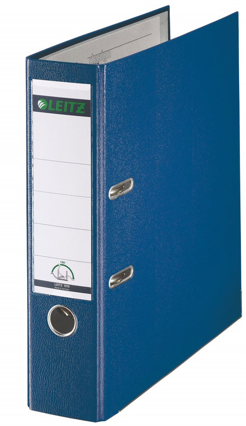 LEITZ ライツ レバーアチファイル【20冊まとめ買い】A4/81mm/約600枚 ブルー 1010-50-35