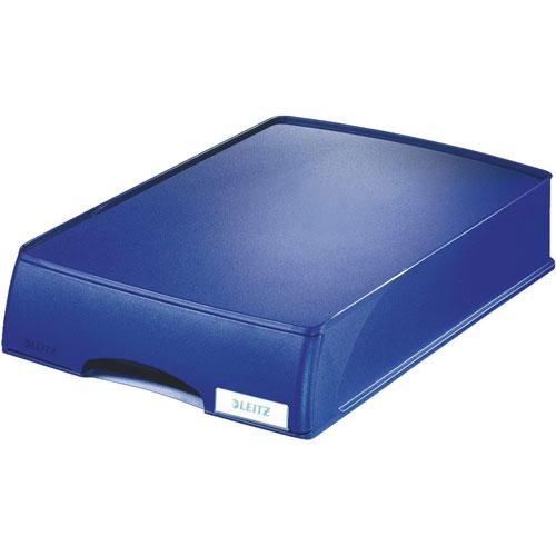 LEITZ ライツ プラス レターケース【まとめ買い4個入】 A4 ブルー 5210-00-35
