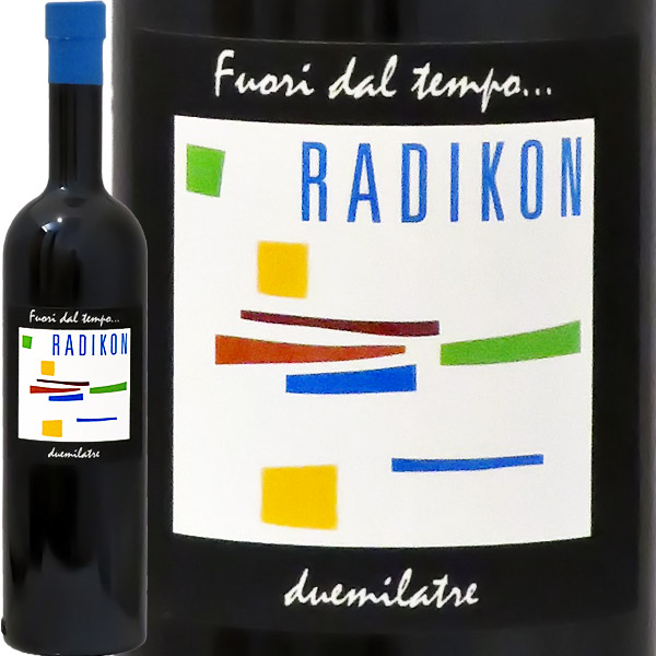 【1本~通常便送料無料】フオーリ・ダル・テンポ(500ml)[2006]ラディコン(※北海道、九州他一部地域を除く)Fuori dal Tempo 2006 Radikon