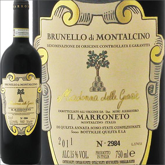 ブルネッロ・ディ・モンタルチーノ・マドンナ・デッレ・グラツィエ[2011]イル・マッロネートBrunello di Montalcino Madonna delle Grazie 2011 Il Marroneto
