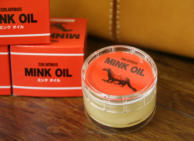 Mink oil [3 business days] 【mg12】