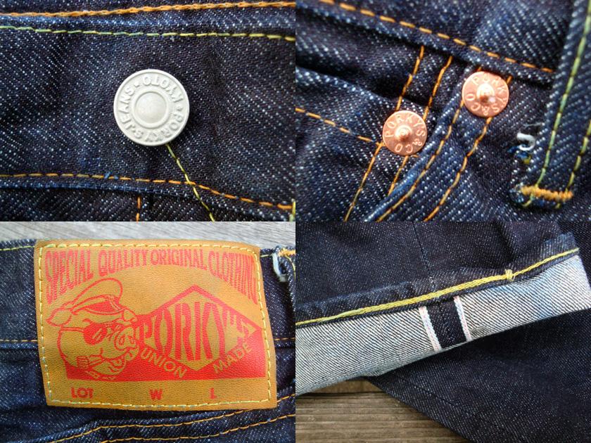 PORKY'S(坡键的)原始物牛仔裤66MODEL fs2gm