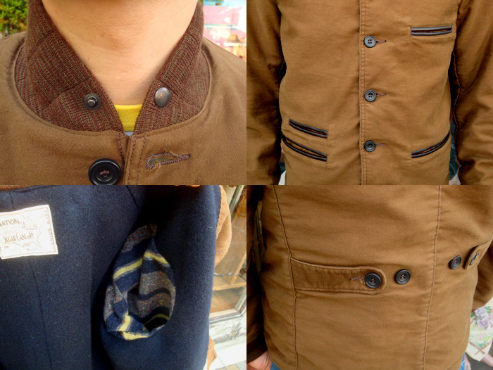"SUGAR CANE(シュガーケーン)""9oz. MOLESKIN JACKET"" SC12901"