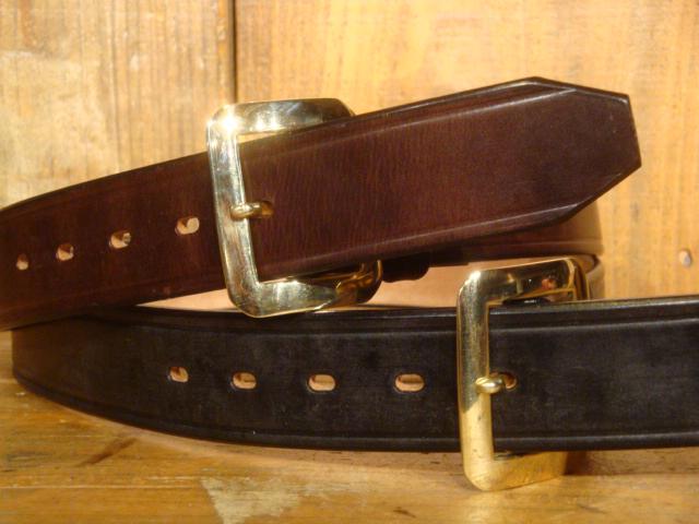 """【送料無料】 RAINBOW COUNTRY(レインボーカントリー) """"U.K. Saddle Leather Single Pin Belt/UKサドルレザーベルト"""" RCL-60015 【あす楽対応_関東】【あす楽対応_北陸】【あす楽対応_東海】【あす楽対応_近畿】【あす楽対応_中国】【あす楽対応_四国】"""