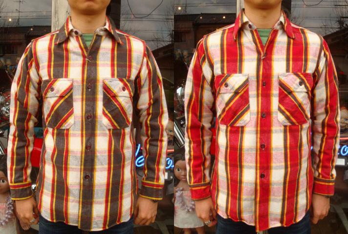 """【送料無料】 HELLER'S CAFE(ヘラーズカフェ) """"1930's Cotton Flannel Shirts"""" HC-060 【あす楽対応_関東】【あす楽対応_北陸】【あす楽対応_東海】【あす楽対応_近畿】【あす楽対応_中国】【あす楽対応_四国】【smtb-k】【ky】fs3gm"""