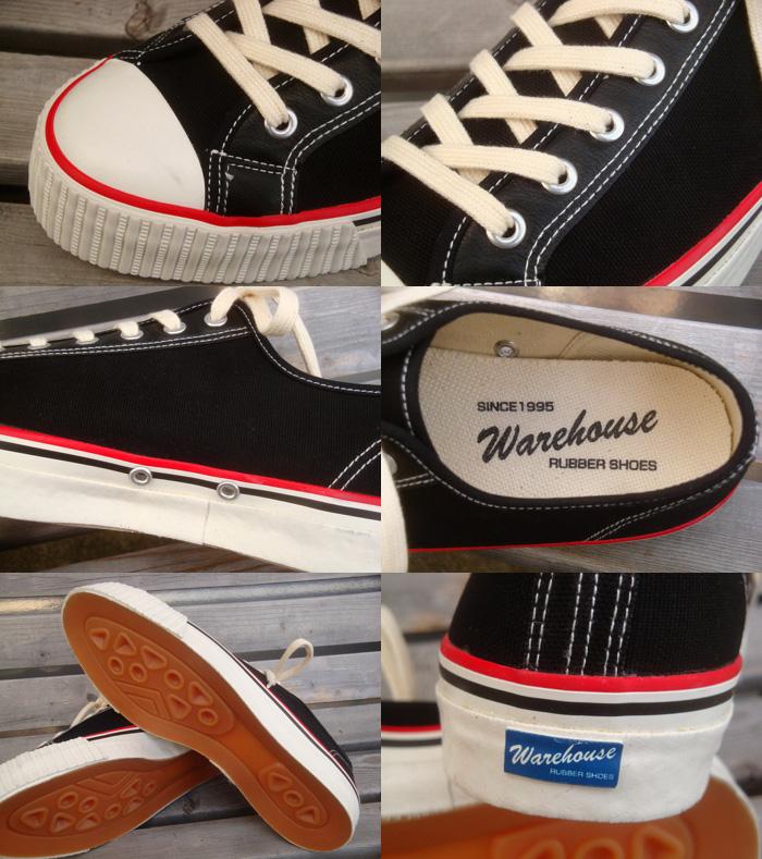WAREHOUSE (warehouse) 3200 'LOW CUT CANVAS SNEAKER / low-cut canvas sneakers'