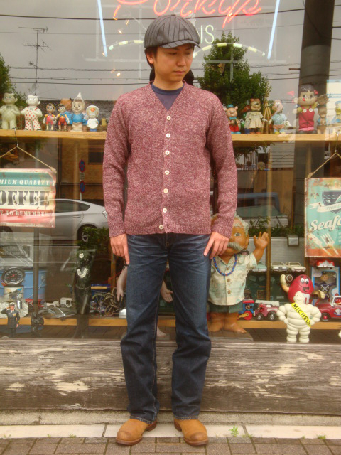"COLIMBO(korimbo)""South Street Knit Cardigan/南街道編織物對襟毛衣""ZR-0802"