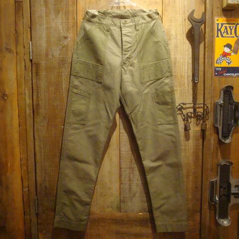 """【送料無料】 FREEWHEELERS(フリーホイーラーズ) """"Deck Trousers/デッキトラウザーズ"""" Vintage Military Back Satin #1822002 【あす楽対応_関東】【あす楽対応_北陸】【あす楽対応_東海】【あす楽対応_近畿】【あす楽対応_中国】【あす楽対応_四国】"""
