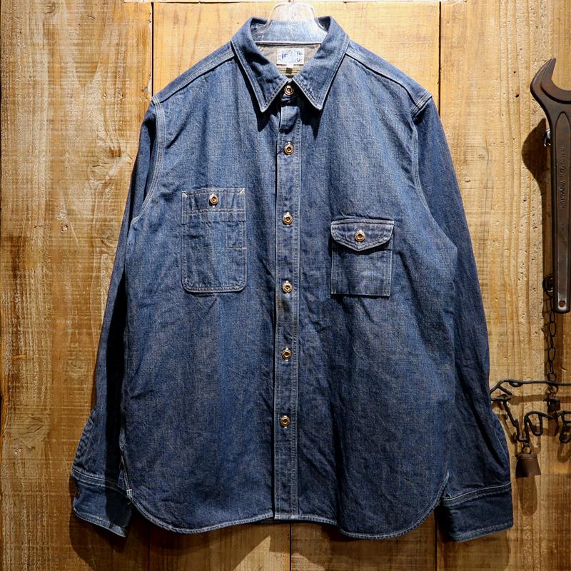 """【送料無料】 JELADO(ジェラード) JELADO PRODUCT """"Smoker's Shirt VF/スモーカーズシャツヴィンテージフィニッシュ"""" JP33163"""