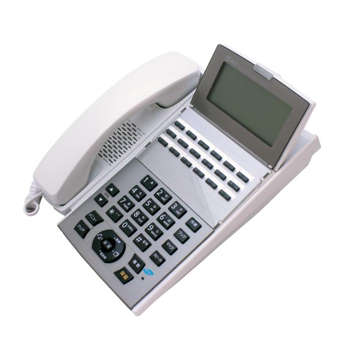 【中古ビジネスホン/中古ビジネスフォン】【中古】 NTT aNX2用 卓上型電話機 NX2-18BTEL-(1)(W) 18ボタン 【ビジネスホン/ビジネスフォン 業務用 電話機 卓上型】
