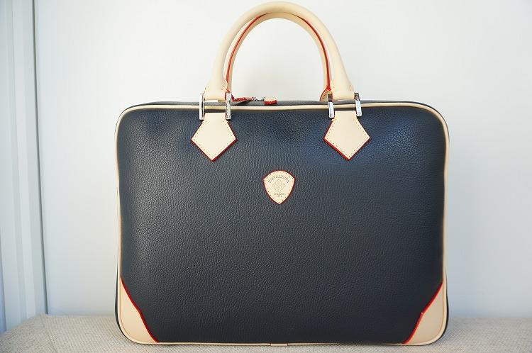 【トリバレ・バッグ】 トリバレンテ/オリジナルバッグ/ 本革/プレゼント/ネイビー/デリジェンテ/10P03Sep16