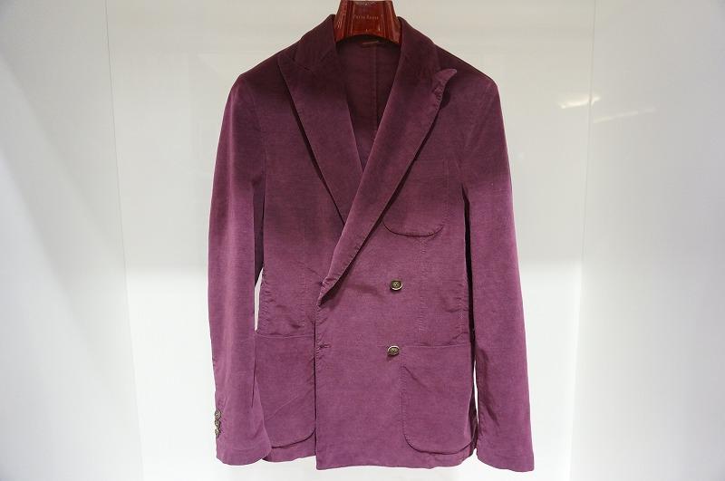 MONTEZEMORO メンズジャケット  クラッシック Wジャケットボルドー 秋冬ジャケット イタリア フィレンツェ 10P03Sep16