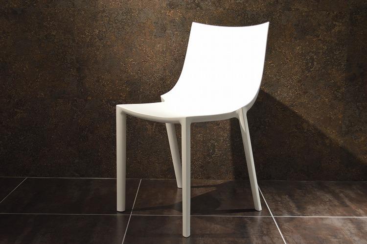 【driade bo yellow】 driade ドリアデ 椅子 イス チェア イタリア製 ホワイト 白 北欧 モダン デザイナーズ アウトドア バルコニー 屋外 屋内 輸入家具 フィリップ・スタルク Philippe Starck