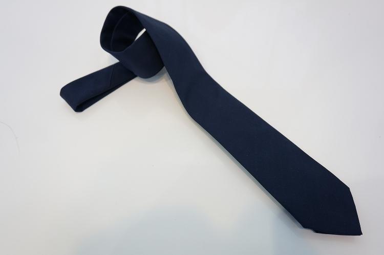 フランコバッシ ネクタイ FRANCO BASSI tie メンズ 無地 シルク100% ネイビー紺 イタリア Itary プレゼント ギフト 送料無料 正規品 直輸入 数量限定 父の日 tie_18028