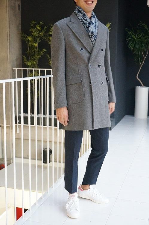 30%OFF SALE! 【EXIBIT cpd639】コート ブルー エクシビット  インポート イタリア 海外ブランド