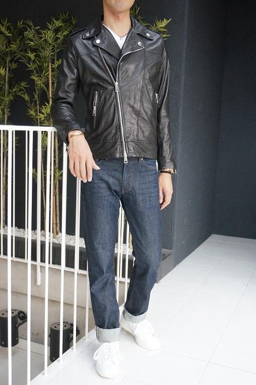 30%OFF SALE! 【imperial_17aw_v3025041】ジャケット 革ジャン ブラック