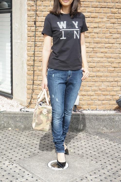 30%OFF SALE! 【imperial_17aw_t364umgwnn】Tシャツ ブラック