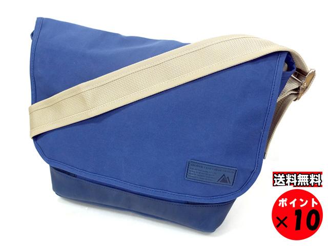 ANONYM CRAFTSMAN DESIGN アノニムクラフツマンデザイン 日本製 10号帆布 ショルダーバッグ SMサイズ NOAH ブルー 送料無料 【あす楽対応】