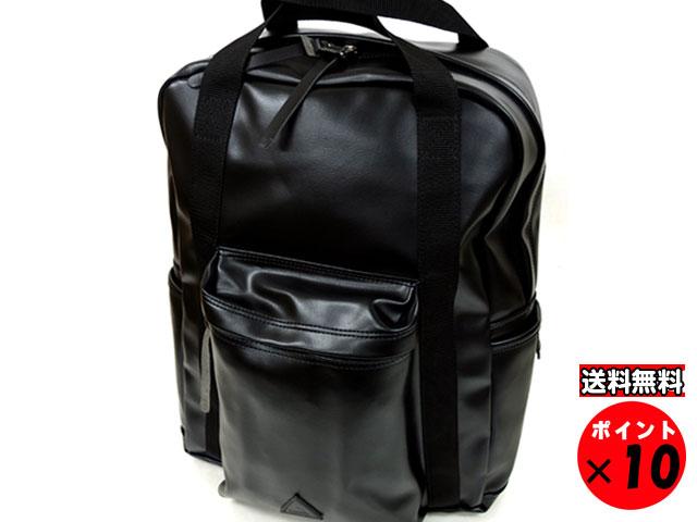 ANONYM CRAFTSMAN DESIGN アノニムクラフツマンデザイン 日本製 PVCレザー デイパック 12H DAYPACK ブラック 送料無料 【あす楽対応】