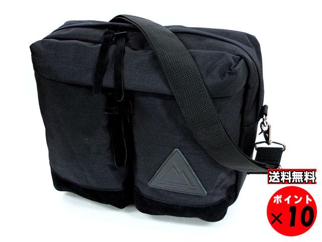 ANONYM CRAFTSMAN DESIGN アノニムクラフツマンデザイン 日本製 ショルダーバッグ 3H SHOULDER BAG ブラック 送料無料 【あす楽対応】