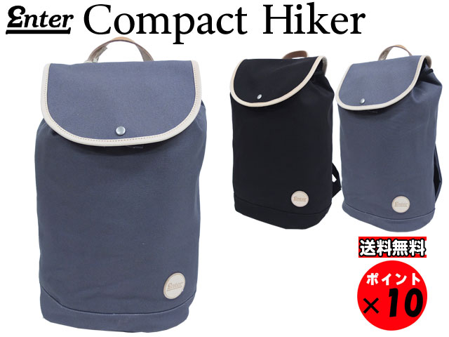 ★ENTER エンター Classic Collection クラシックコレクションCOMPACT HIKER BAG コンパクトハイカー グレー 送料無料 【あす楽対応】