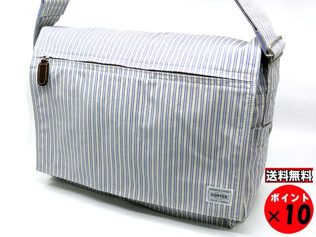 ポーター 吉田カバン正規販売店のA-ONEです 買取 国内即発送 吉田カバン BLUE STRIPES ブルーストライプス BAG 88ストライプ 708-06382 SHOULDER 送料無料 ショルダーバッグ