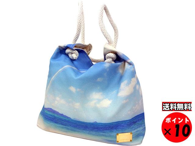四季花 東京 Shikica TOKYOxポーター 吉田カバン コラボレーション トートバッグ 1214 オーシャンブルー 送料無料