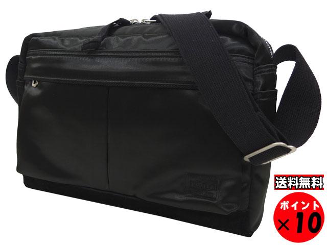★吉田カバン PORTER ポーター FADE フェード SHOULDER BAG ショルダーバッグ 188-02042 ブラック 送料無料 【あす楽対応】