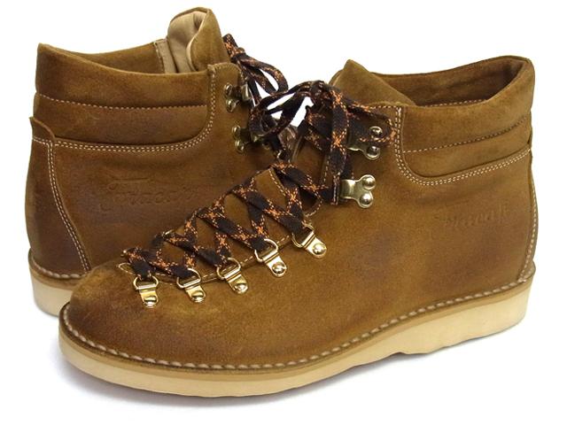 大特価セール30%オフ+ポイント10倍 Fracap フラカップ イタリアメイド Mountain Boots マウンテンブーツ M127 キャメル 送料無料