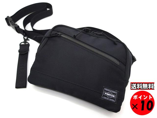 ポーター 吉田カバン FRONT フロント WAIST BAG ウエストバッグ 687-17032 ブラック 【あす楽対応】