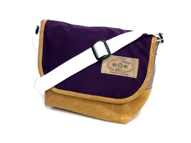 Lot. ロット 60/40 Mini Shoulder Bag ミニショルダーバッグ パープル 送料無料