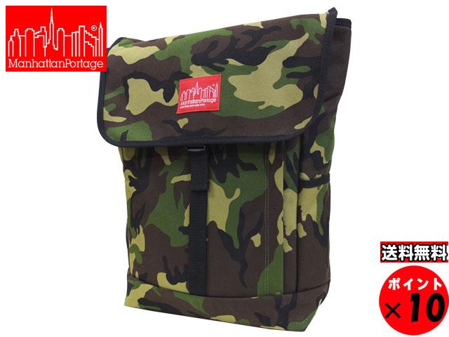 Manhattan Portage マンハッタンポーテージ Washington SQ Backpack ワシントンSQバックパック ウッドランドカモ 1220 送料無料 【あす楽対応】