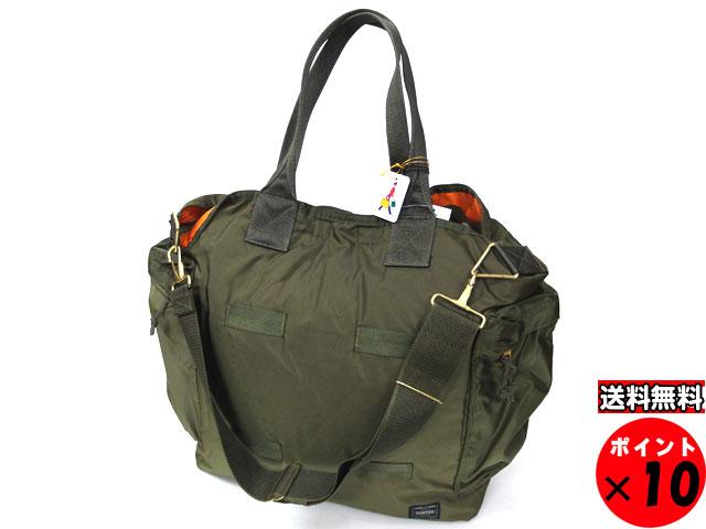 a175a2c22 porter: Porter Yoshida Kaban FORCE Force 2WAY tote bag 855-07500 olive drab  | Rakuten Global Market