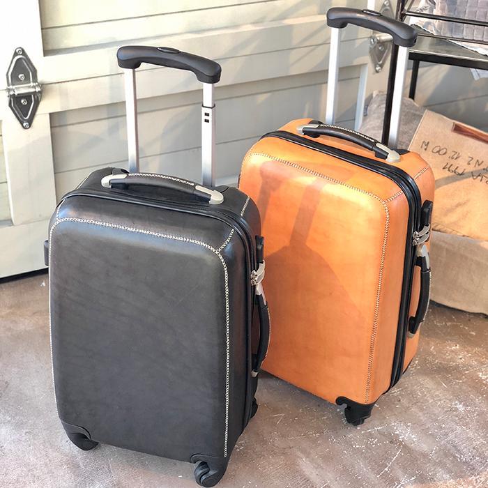 北欧雑貨 レザー 革 最高品質 手作り 贅沢 エレガント レザー張り スーツケース