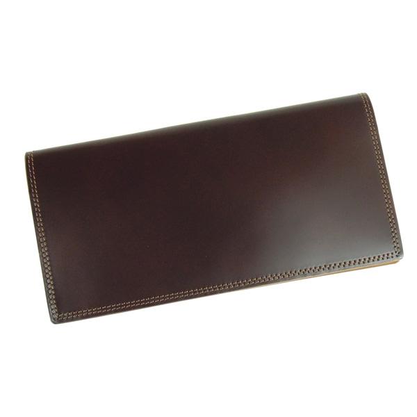コードバン 長財布 札入れ 馬の腰部の革 CO-1 チョコ
