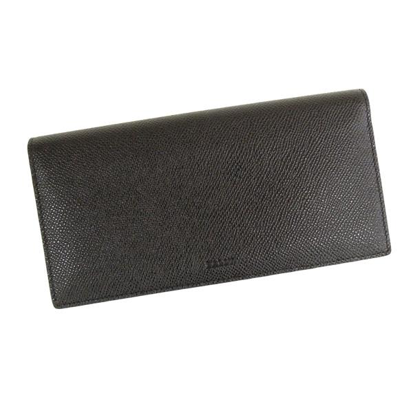 【並行輸入品】 バリー 長財布 小銭入れ付き BALIRO 6205276 216 ブラック+レッド BALLY