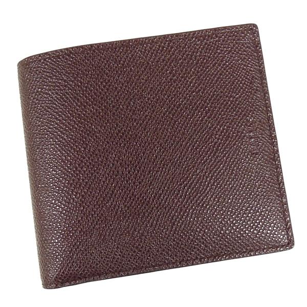 【並行輸入品】 バリー 財布 BYIE.B 146 小銭入れ付き ボルドー+ブラウン BALLY